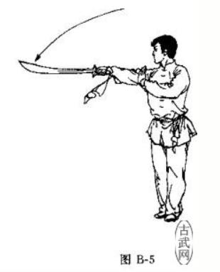 劈刀 Pī Dāo 并步 2